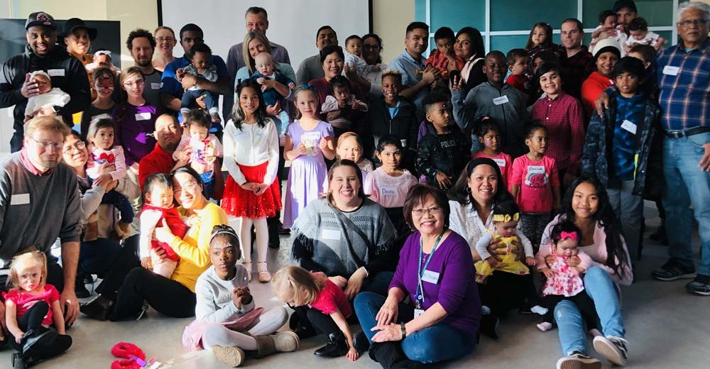 Families and SHN staff gathered for World Prematurity Day 2019.